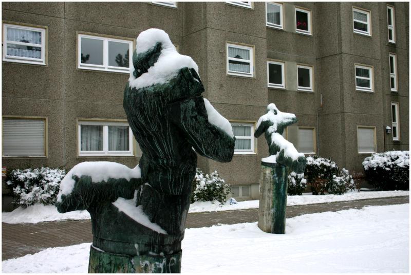 Frozen Statues