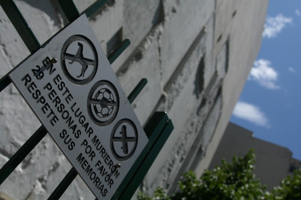 israeli embassy bombing site in buenos aires