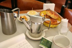 tea and accompaniments in argentina