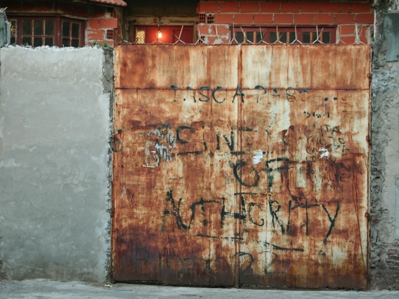 rusty door of security?