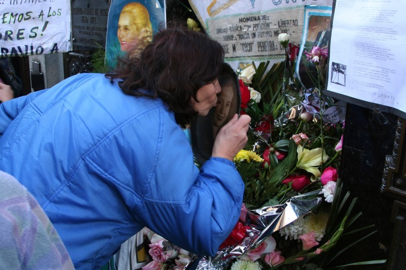 evita's death day memorial