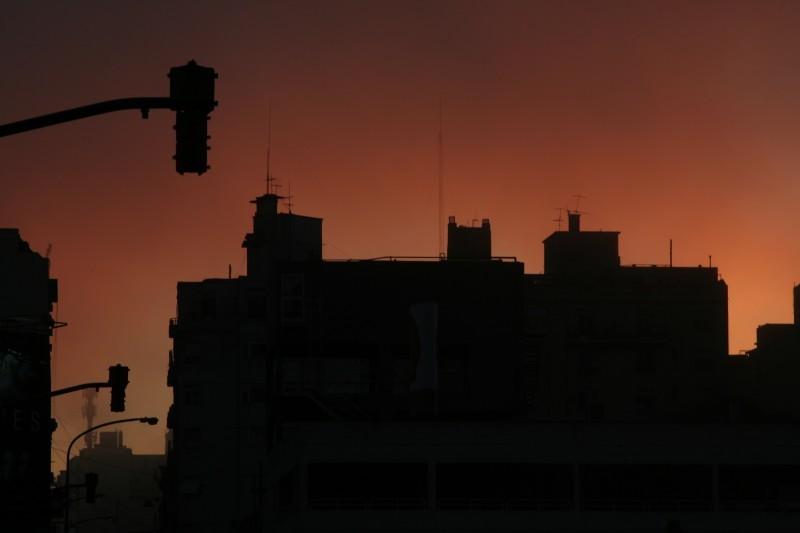 isolated sunset