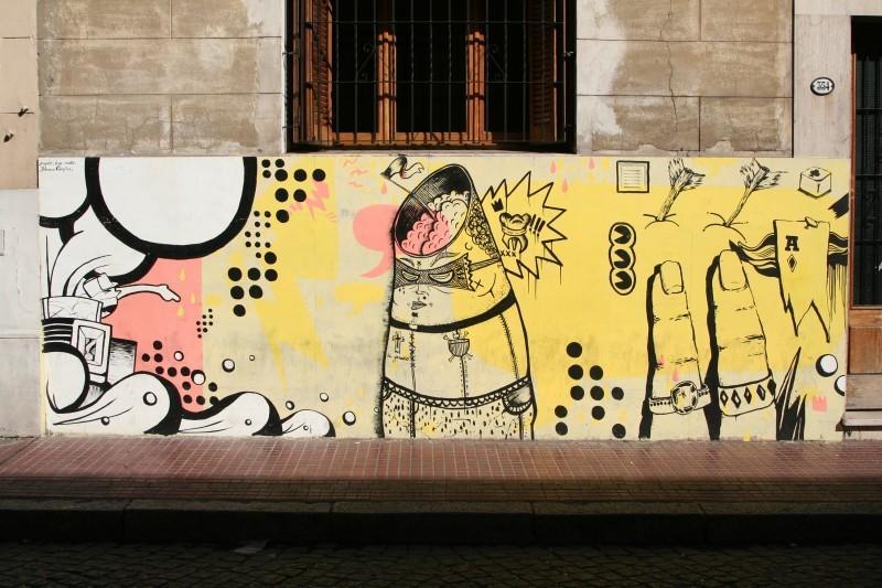 graffiti art in buenos aires