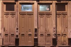 pattern of doors