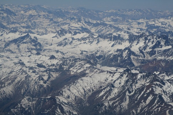 back over the andes