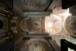 the amazing church ceiling of paysandú