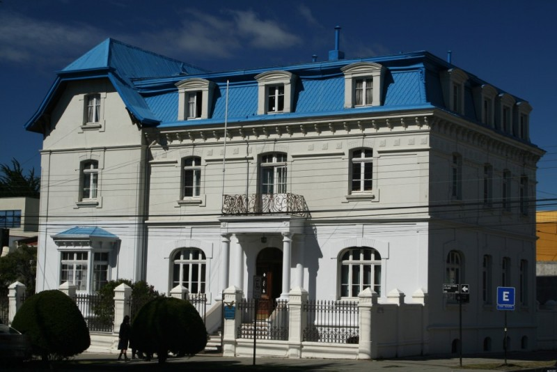 colonial house in punta arenas