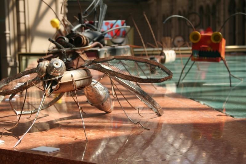 bugs in metal