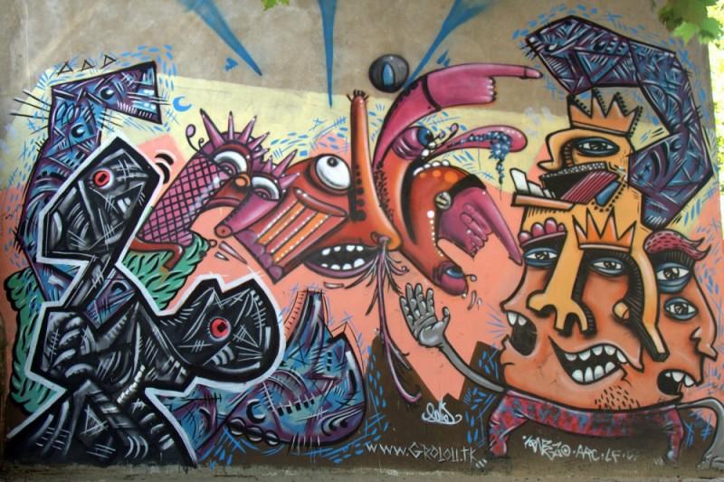 nouveau mural