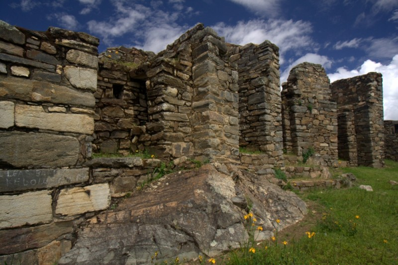 the ruins of choquequirao