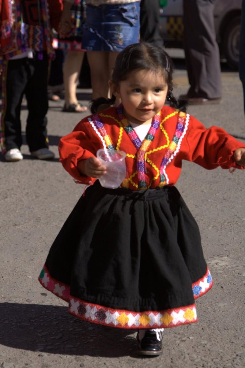 cute parade girl