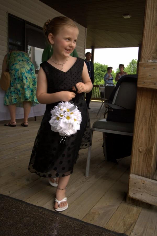 the flowergirl