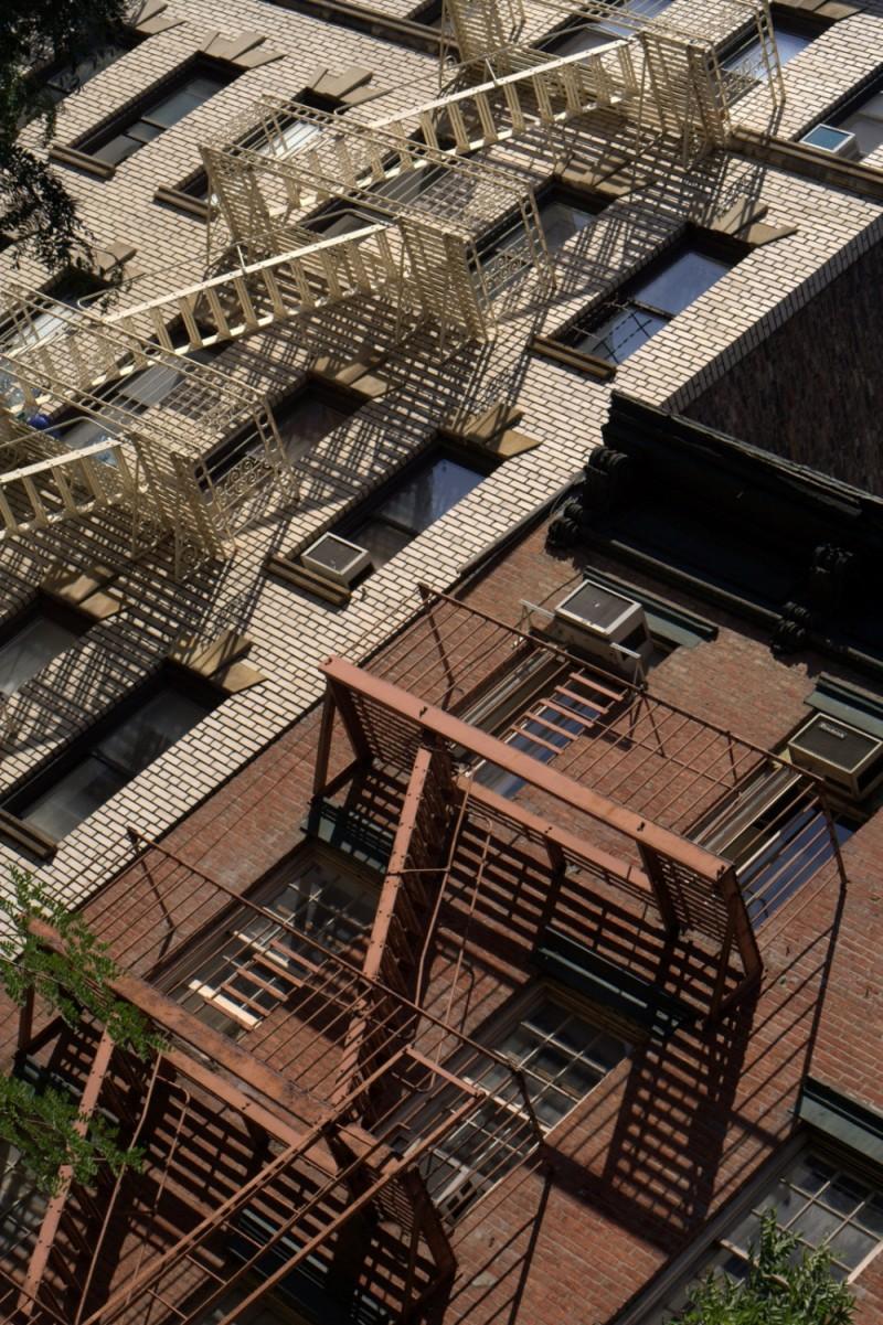 angled balconies