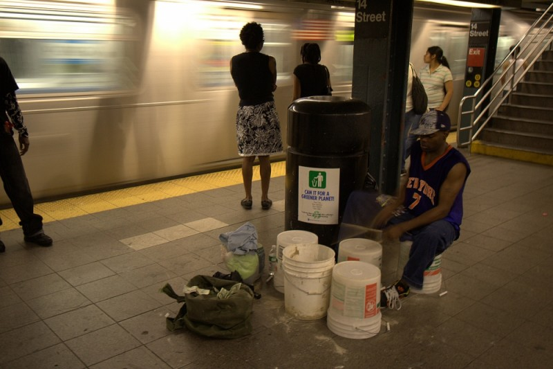 drummer in the mta