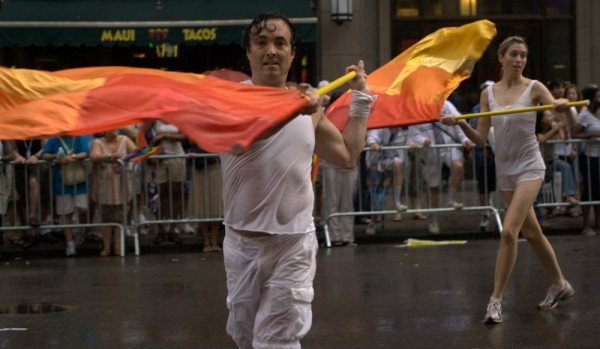 flag carriers in the nyc gay pride parade