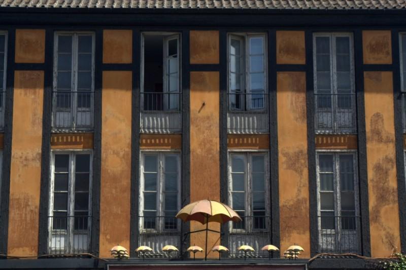 umbrella building in copenhagen