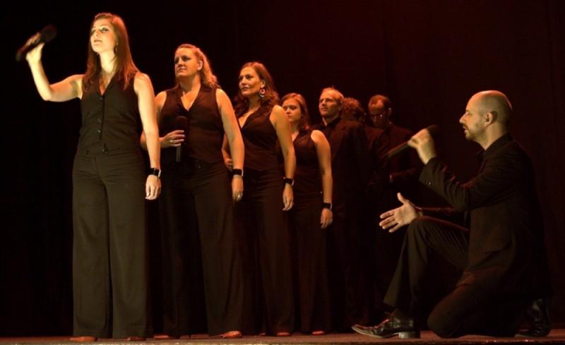 swingle singers performing