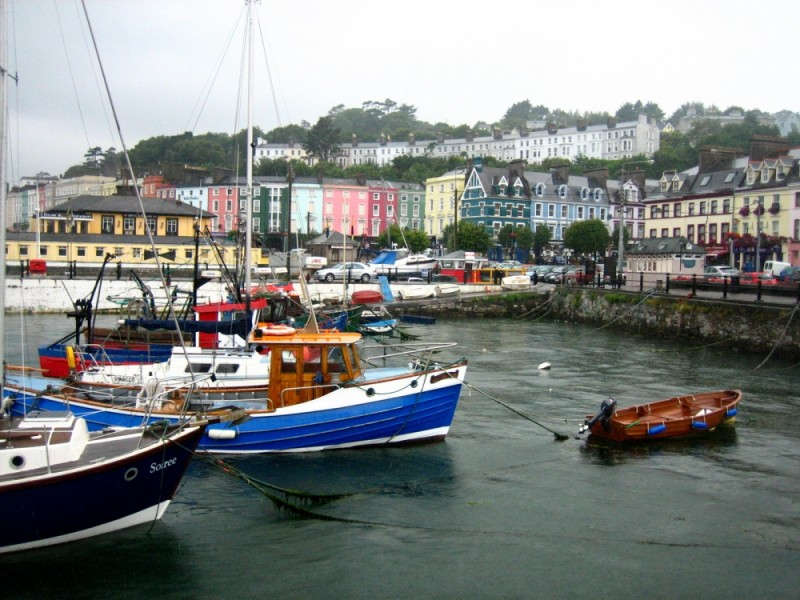 a harbour view of cobh