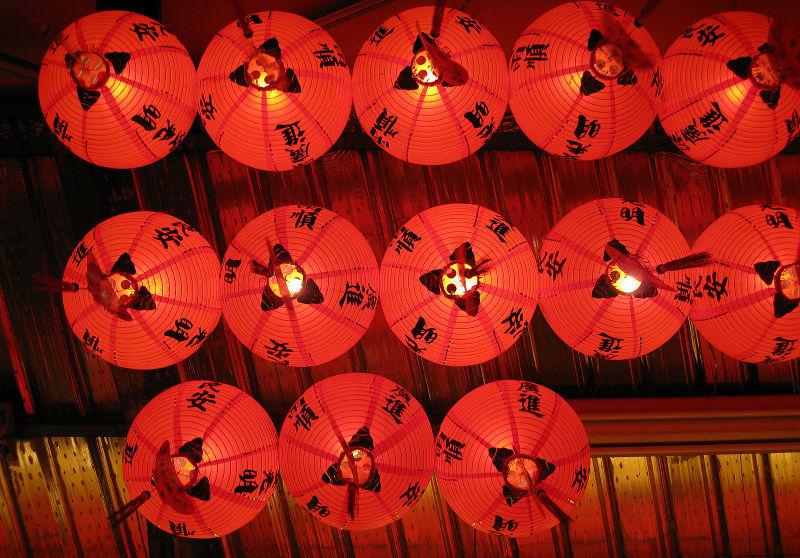 restaurant lanterns