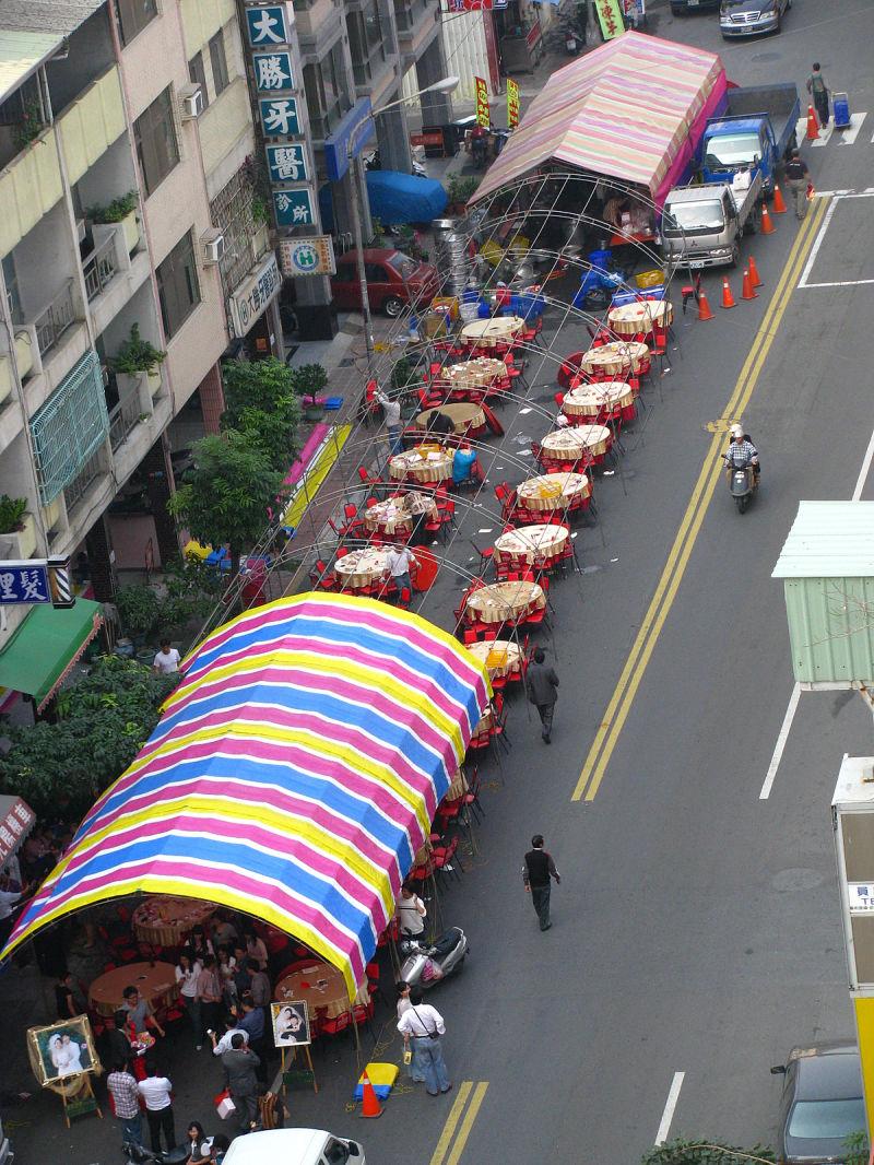 taiwan street wedding