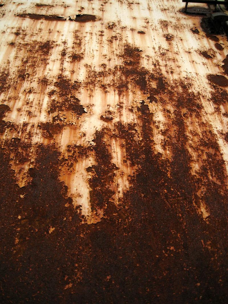 creeping rust