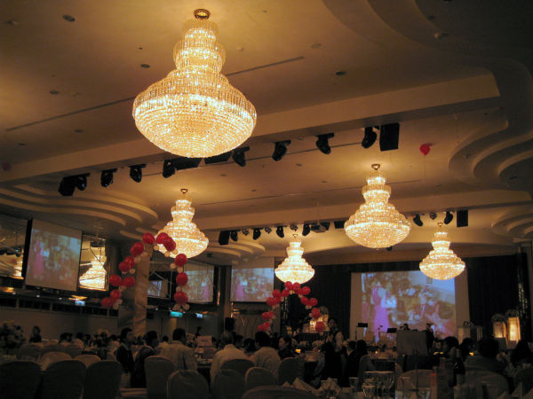 high-class wedding