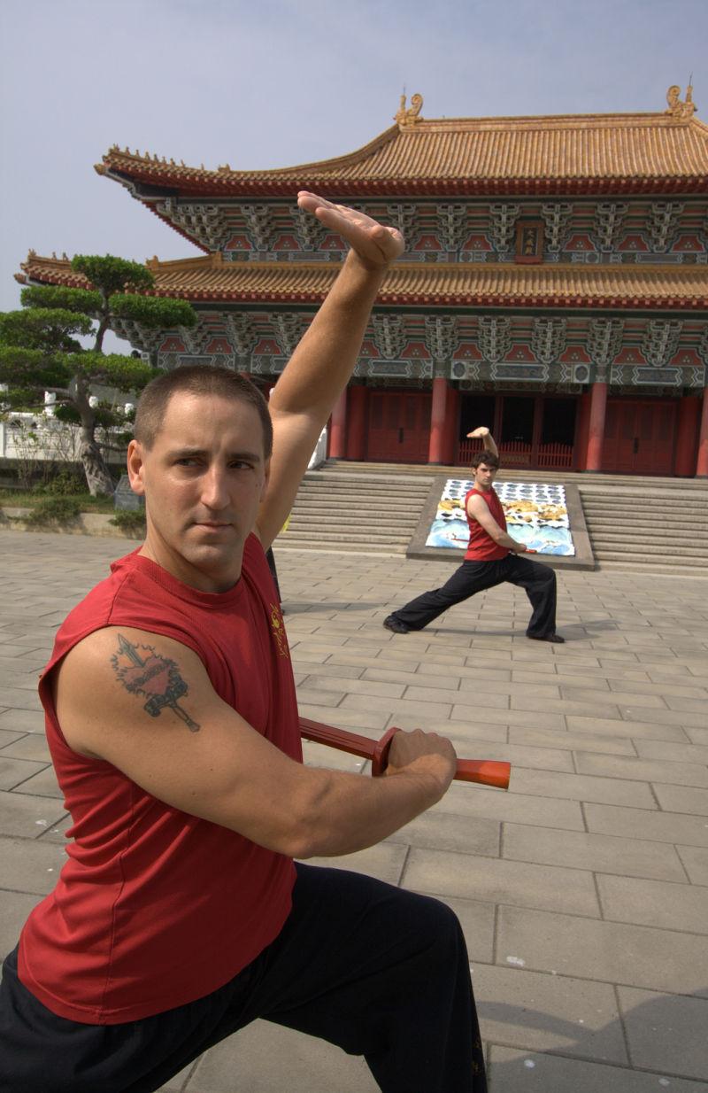 kung fu shots