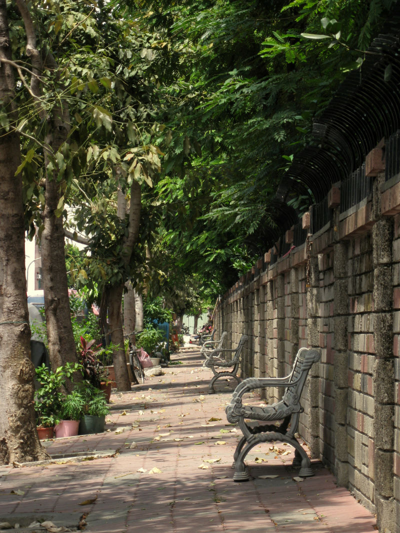 quiet bench time