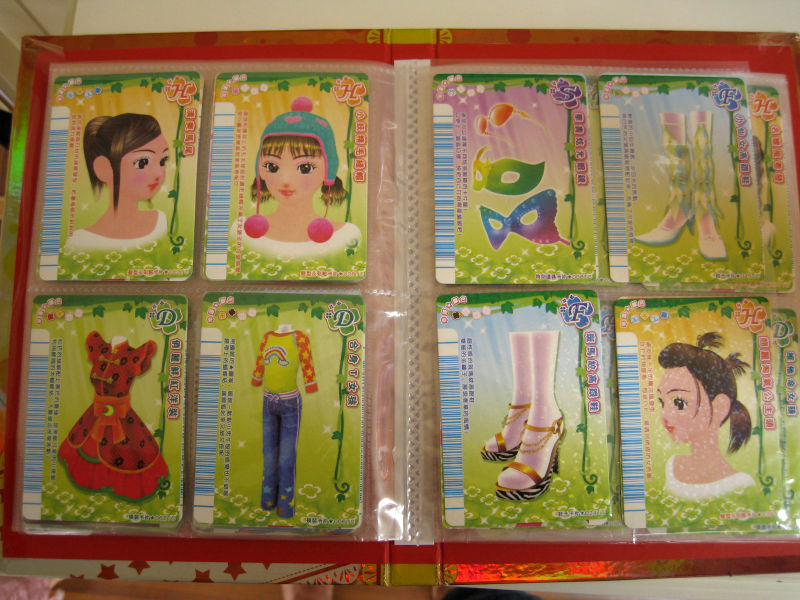 clothing cards