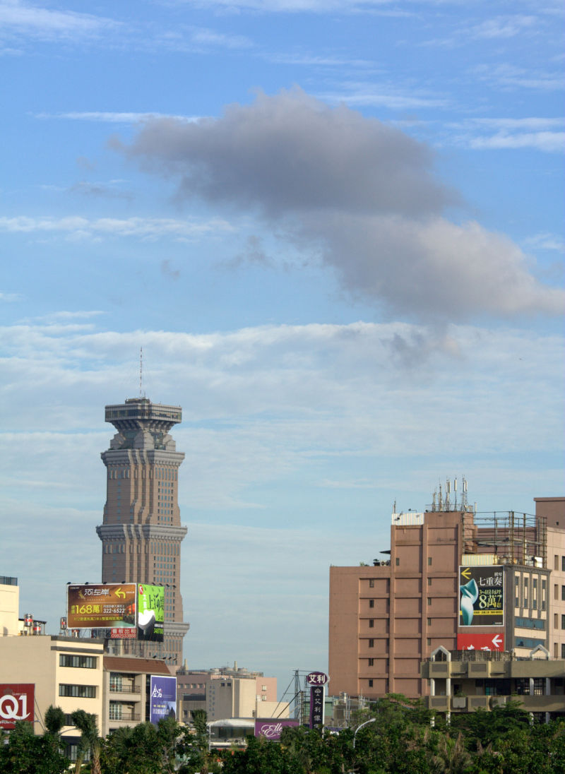 cloud eats building