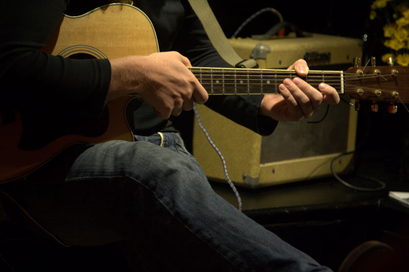 musicians make music