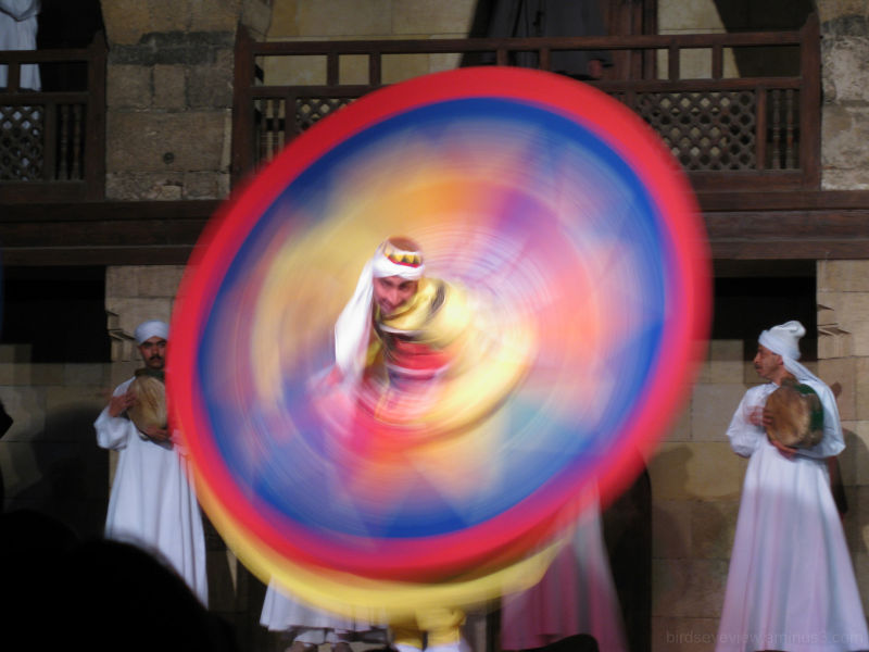 whirling dervish whirling