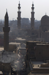 a view of islamic cairo