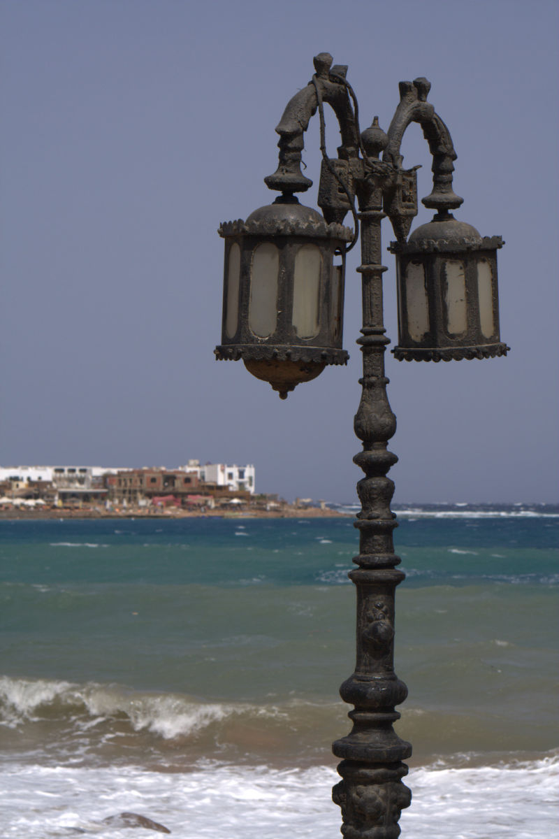 lamps on the red sea