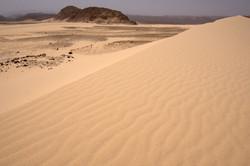 sand dune in sinai