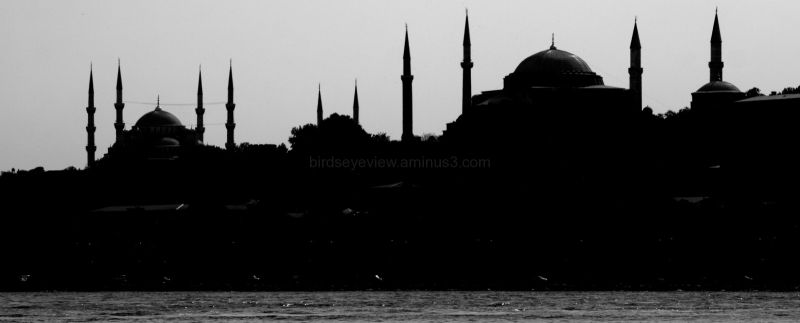 sultanahmet from the bosphorus
