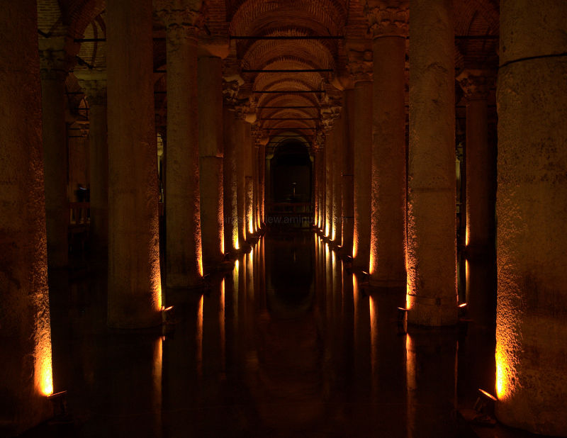 the cistern in istanbul