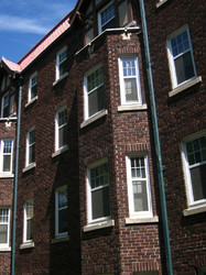 old apartment buildings, downtown regina
