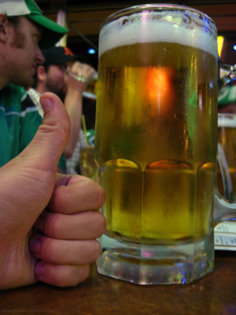 a schooner of beer
