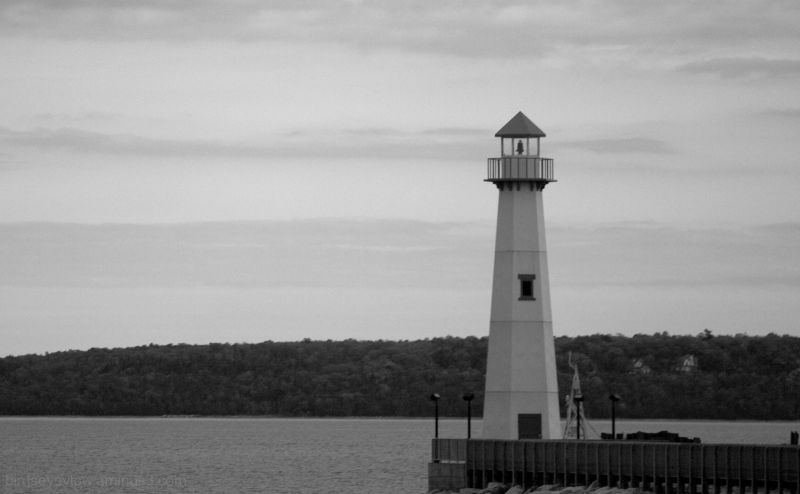 lighthouse in the upper peninsula