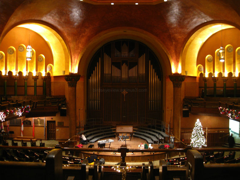 a christmas church concert