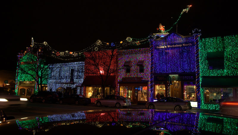 christmas lights in rochester