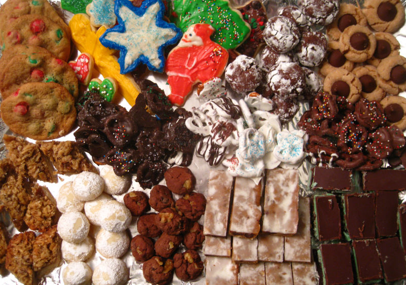 christmas cookies galore