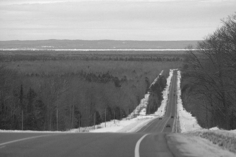 long road downhill