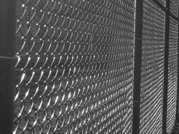 grey fence