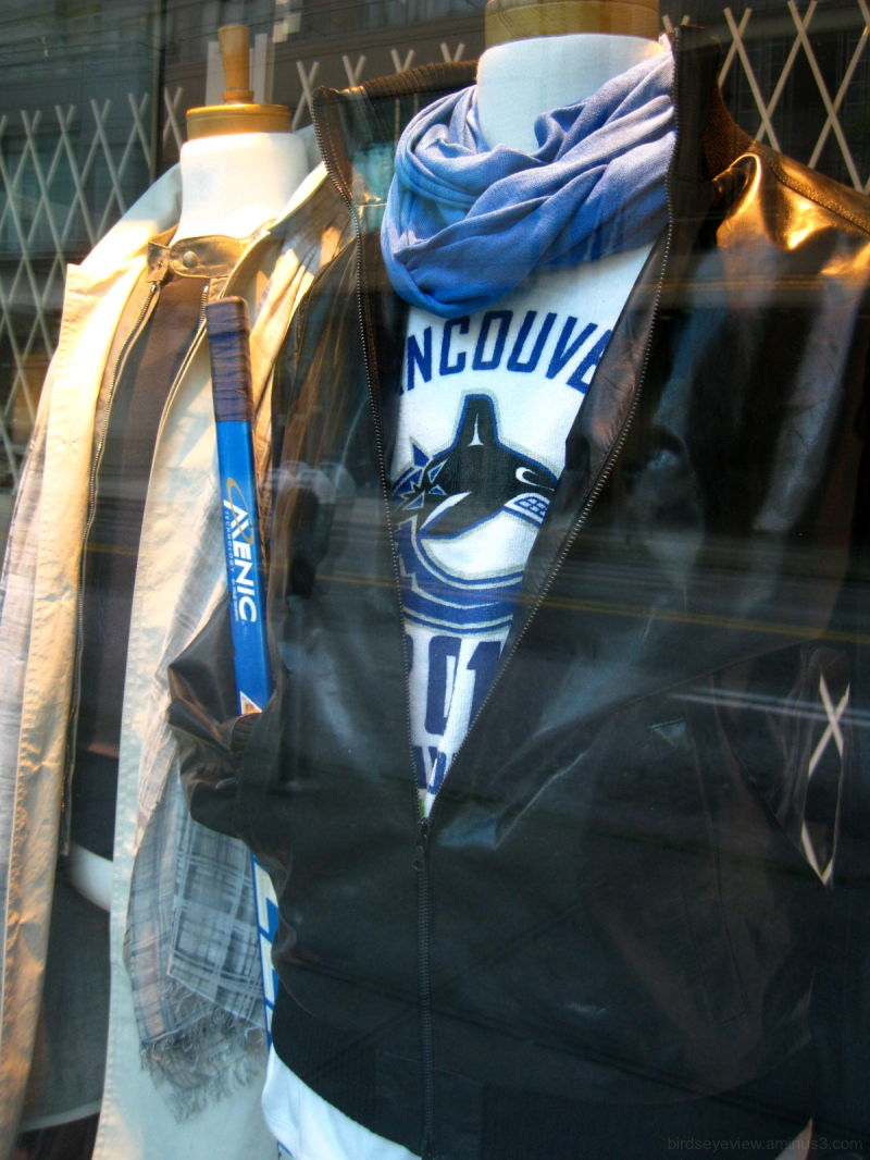 canucks in the window