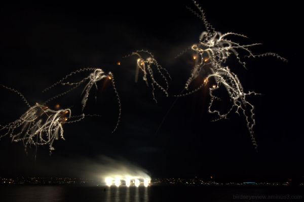 twirly fireworks