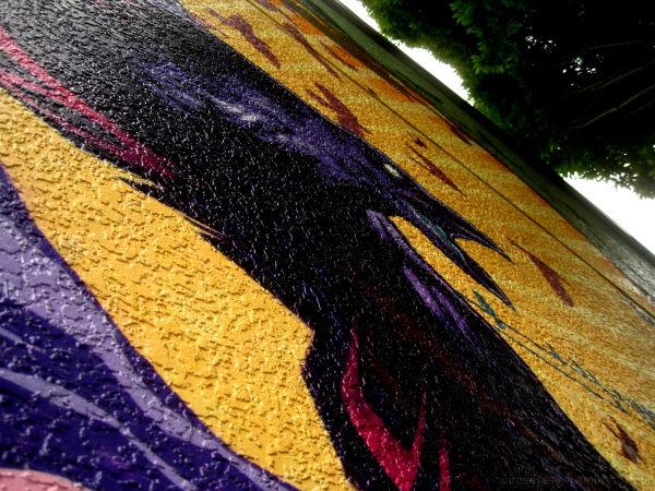 raven mural