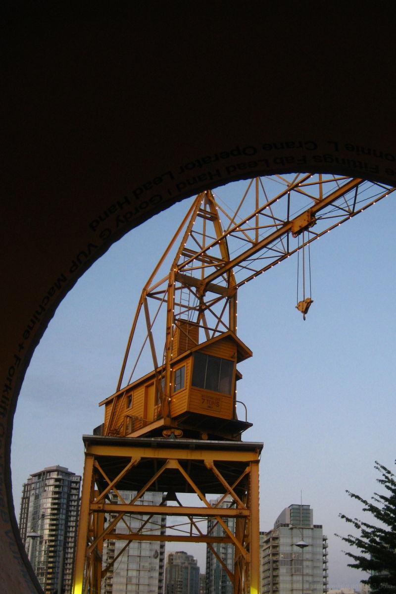 granville island crane