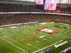 national anthem at the grey cup